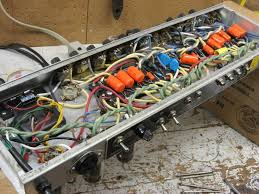 projects mike beauchamp rebuilding an early 70 s fender deluxe reverb using the original ab763 schematic new wiring resistors capacitors 3 prong power cord etc