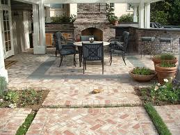 brick paver patio herringbone. Wonderful Patio Brick Herringbone Patio Paving In Fancy Patterns With A Dining Area  Bluestone Border For Paver Patio R
