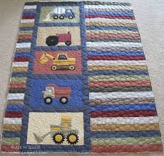 228 best Tshirt quilts images on Pinterest | Memory quilts, Board ... & Piece N Quilt: Randomness @ Piece N Quilt------- use paper pieced heavy  machinery blocks for my next baby boy quilt Inspiration Adamdwight.com