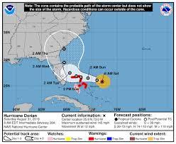 Atlantic Basin Hurricane Tracking Chart National Hurricane Center Miami Florida
