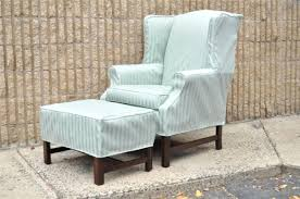 Furniture Armchair Slipcovers Uk Wing Chair T Cushion Diy Inside