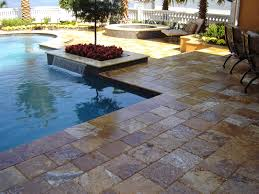pool patio with pavers travertine patios travertine driveways travertine tile for pool decks