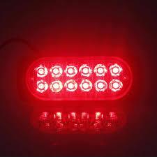 10Pcs 12V 36W LED Car Side Marker Tail Light <b>Amber</b> Trailer Truck ...