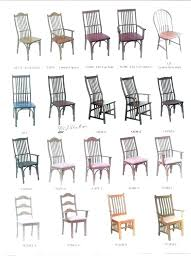 dining room chair style names types fabulous in