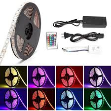 Led Lights Sync To Music Buy Solmore Led Strip Lights Sync To Music 16 4ft 5m Rgb Led