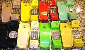 the telephone on prince edward island on line telephone museum ae 982 styleline tc and dial competing we s trimline phones