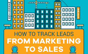 Track Sales Leads How To Track Leads From Marketing To Sales Marketing