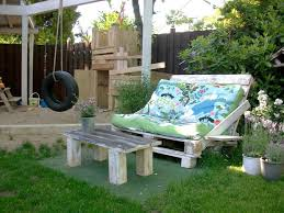 outdoor furniture ideas photos. Outdoor Pallet Furniture Ideas Creative Diy Backyard Patio Shebi Chic Lounge Colorful Cushion Photos