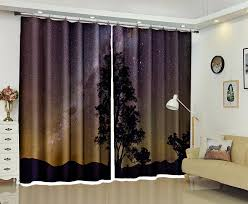 Office drapes Next Office Drapes With 2018 Customized Blackout Curtains Night Sky 3d Print Window Decorate Mellanie Design Office Drapes With 2018 Customized Blackout 24549