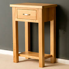 small hall furniture. london oak small hall table telephone solid wood console brand new furniture