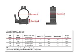 14rl 30mm Ruger Quick Detach Medium Rings