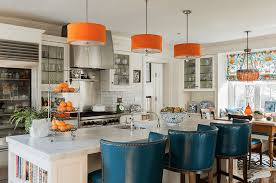 Orange And White Kitchen Kitchen Color Ideas Freshome