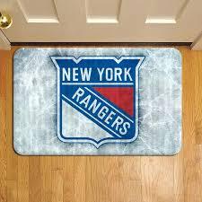 hockey carpet new rangers ice hockey team league door mat rug carpet doormat doorsteps foot pads hockey carpet