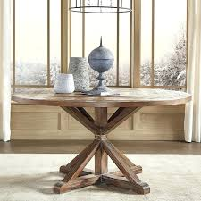 rustic dining table building plans x base round pine wood by inspire q artisan