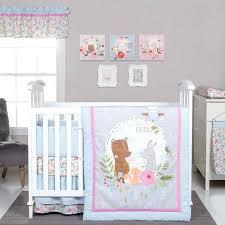 deer crib bedding medium size of pink deer crib bedding brown and ladybug blanket grey gold