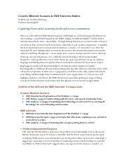 national honor society   miki patel national honor society essay   pages sme interview rubricpdf