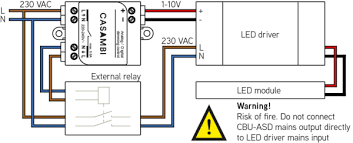 v dali interface connected light ledsgo connection diagram 1 10v driver