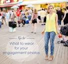 What to wear for engagement pictures in the snow