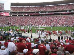 Alabama Football Bryant Denny Stadium Seating Chart