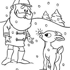 Small Picture Clarice Kiss Rudolph the Red Nosed Reindeer Coloring Page Color Luna