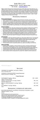 Gallery Of Short Resume Example