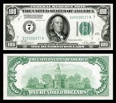 1928 100 Frn Federal Reserve Bank Of Chicago 100 Dollar