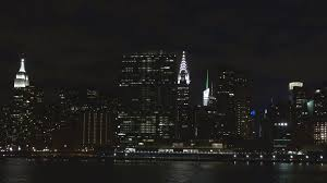 chrysler building at night black and white. manhattan panorama night empire state building chrysler tower new york city dark stock video footage videoblocks at black and white m