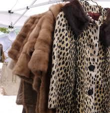 vintage market south fur coat