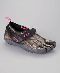 Fila Camo Neon Pink Skele Toes Ez Shoe Women