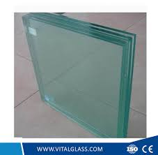 clear water cutter laminated glass for building glass tempered glass