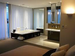 modern bedroom with bathroom. Plain Bedroom Minosa The New Modern Design  Parents Retreat Vs Ensuite Open Plan  Bathroom In Bedroom With