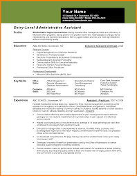 Administrative Professional Certificate 5 Entry Level Administrative Assistant Business