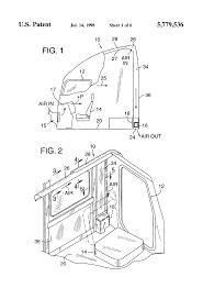 delighted suzuki 250 quadrunner wiring diagram gallery Suzuki Quad Runner 160 patent us5779536 truck cab ventilation system and method