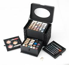 bring out the beauty in you with the ulta time to shine blockbuster kit a 71 piece collection which includes 36 eye shadows 1 brow wax