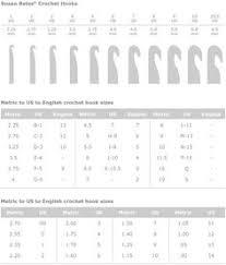 8 Best Crochet Hook Sizes Chart Images Crochet Hook Sizes