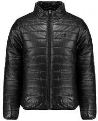 Mens Black Quilted Jacket & Soul Star Mens Black Quilted Jacket Adamdwight.com