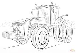 Small Picture John Deer Tractor coloring page Free Printable Coloring Pages