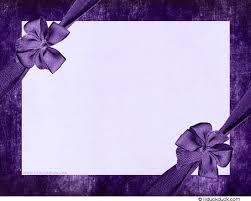 Blank Birthday Invitation Card Design Letter