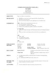 Free Chronological Resume Template With Hybrid Templates