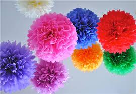 Make Tissue Paper Flower Balls 24 Colors Avilable Giant Tissue Paper Flowers Ball Garland