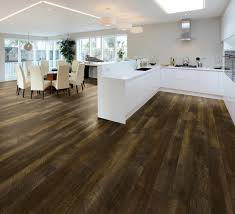courtier premium vinyl plank collection baroness hickory modern kitchen los angeles
