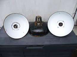 french industrial lighting. Image Is Loading THREE-VINTAGE-FRENCH-INDUSTRIAL-PENDANT-LIGHTS-INDUSTRIAL- LIGHTING- French Industrial Lighting