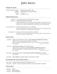 Example Of College Resumes Custom Resume Example For College Student Sample College Student Resumes