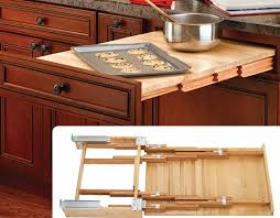 made of solid wood and is carb ii compliant slide has stop locks to extend and retract door mountable brackets allow up to 5