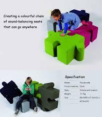 Puzzle Sofa Pre Order Idrop Jigsaw Puzzle Sofa Stool Pieced Together Creative