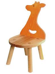 giraffe chair wooden toys