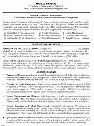 resume cover letter for software manager sample customer service with regard to software manager resume product support manager resume
