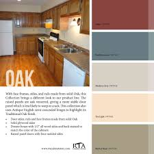kitchen paint ideas inspirational color palette to go with oak kitchen cabinet line for those with
