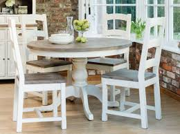 french country round dining table for the home in country style kitchen tables