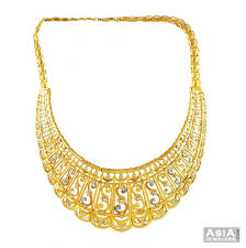 21k gold necklace